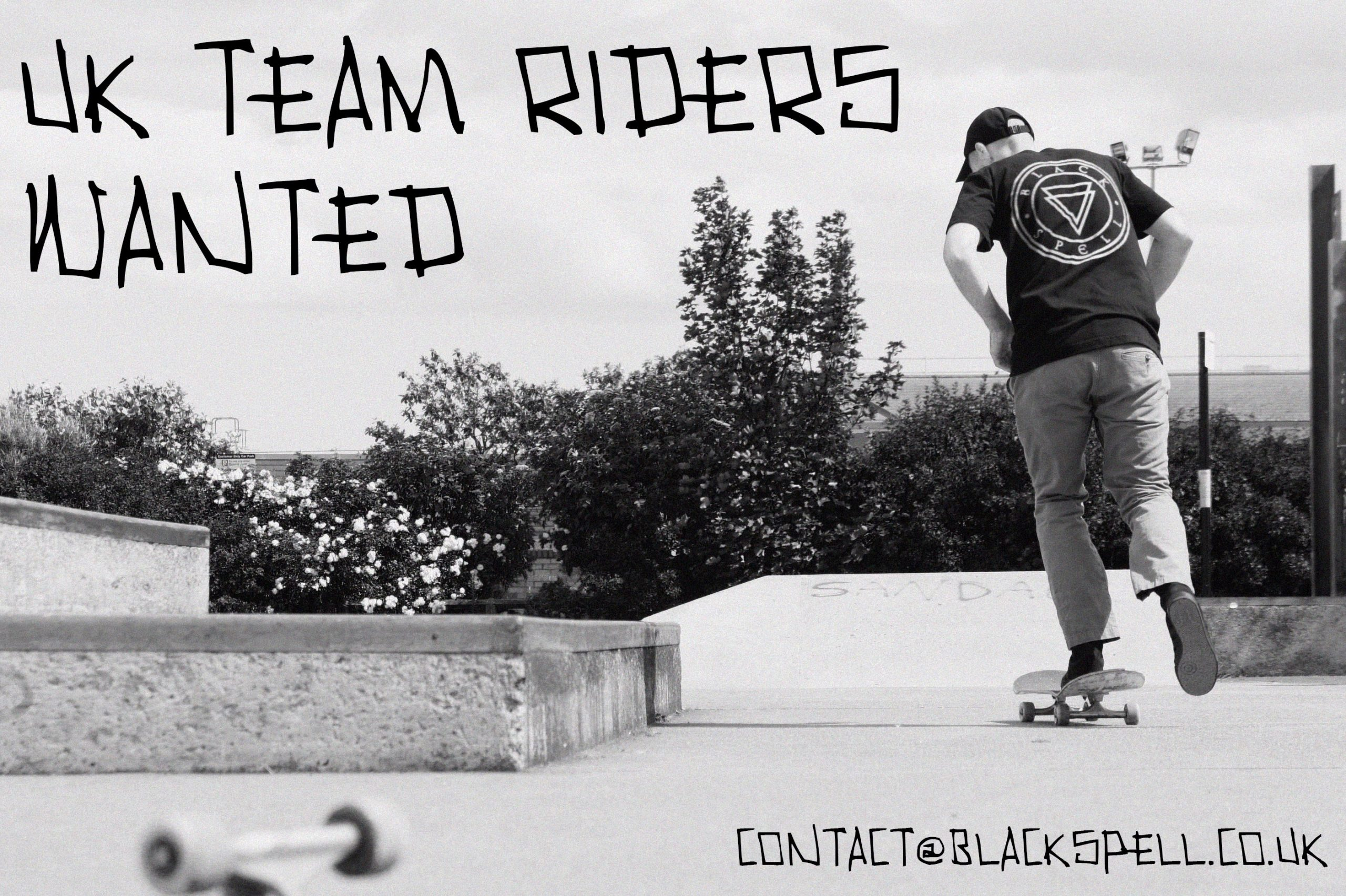 Team Riders Wanted