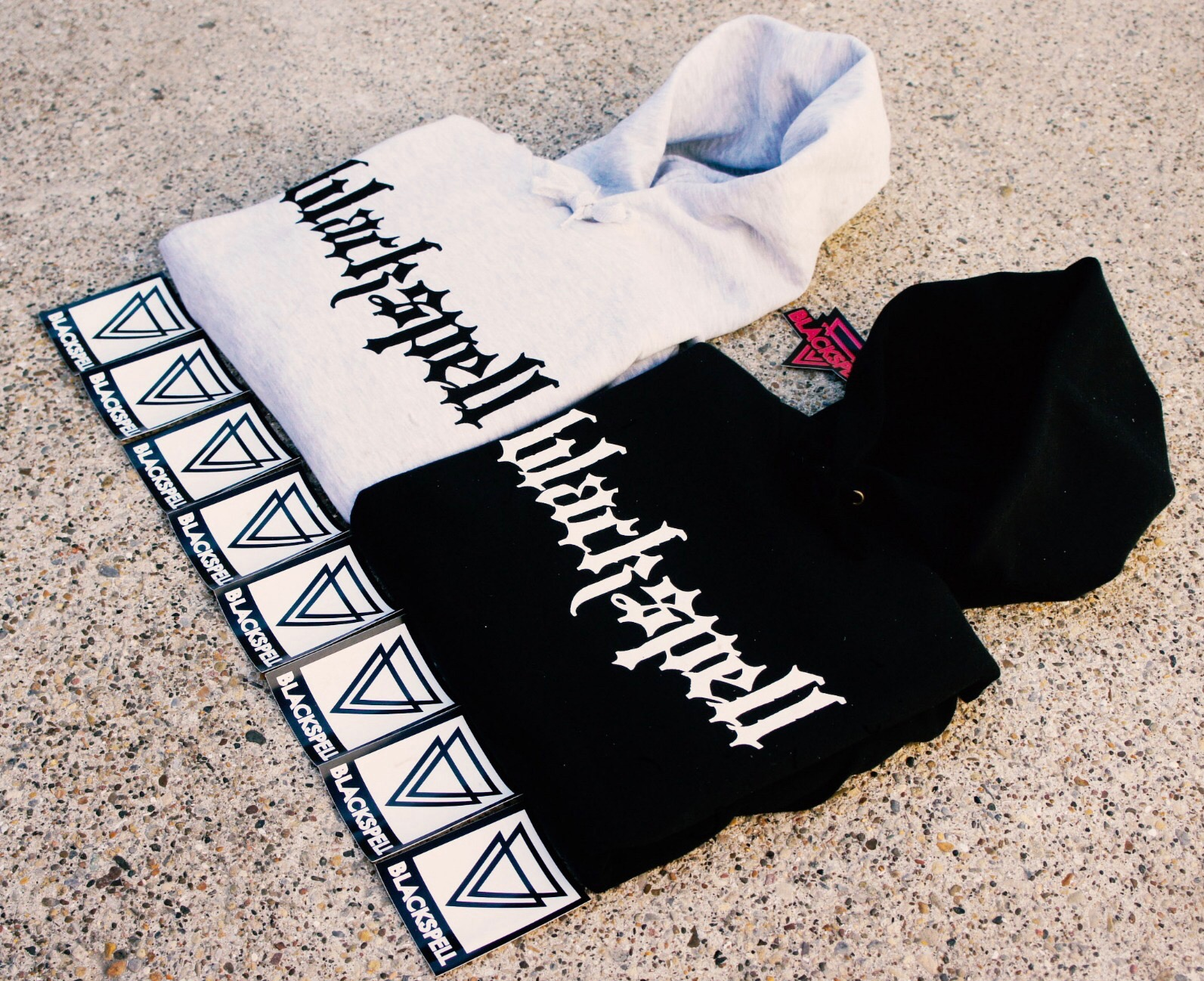 Bank Holiday GIVEAWAY | WIN A SCRIPT HOODY + STICKER PACK