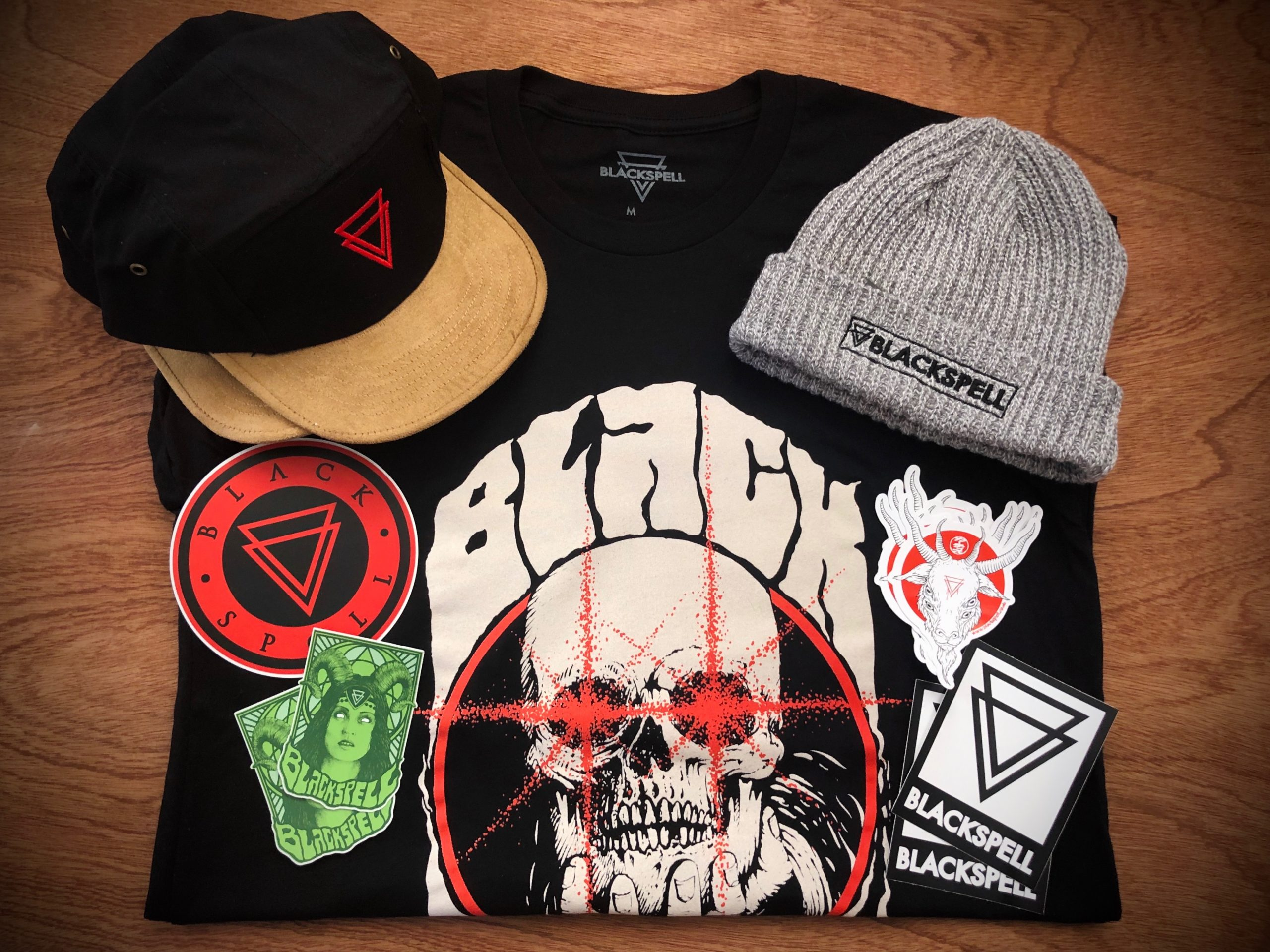BLACK SPELL T-SHIRT AND HAT GIVEAWAY