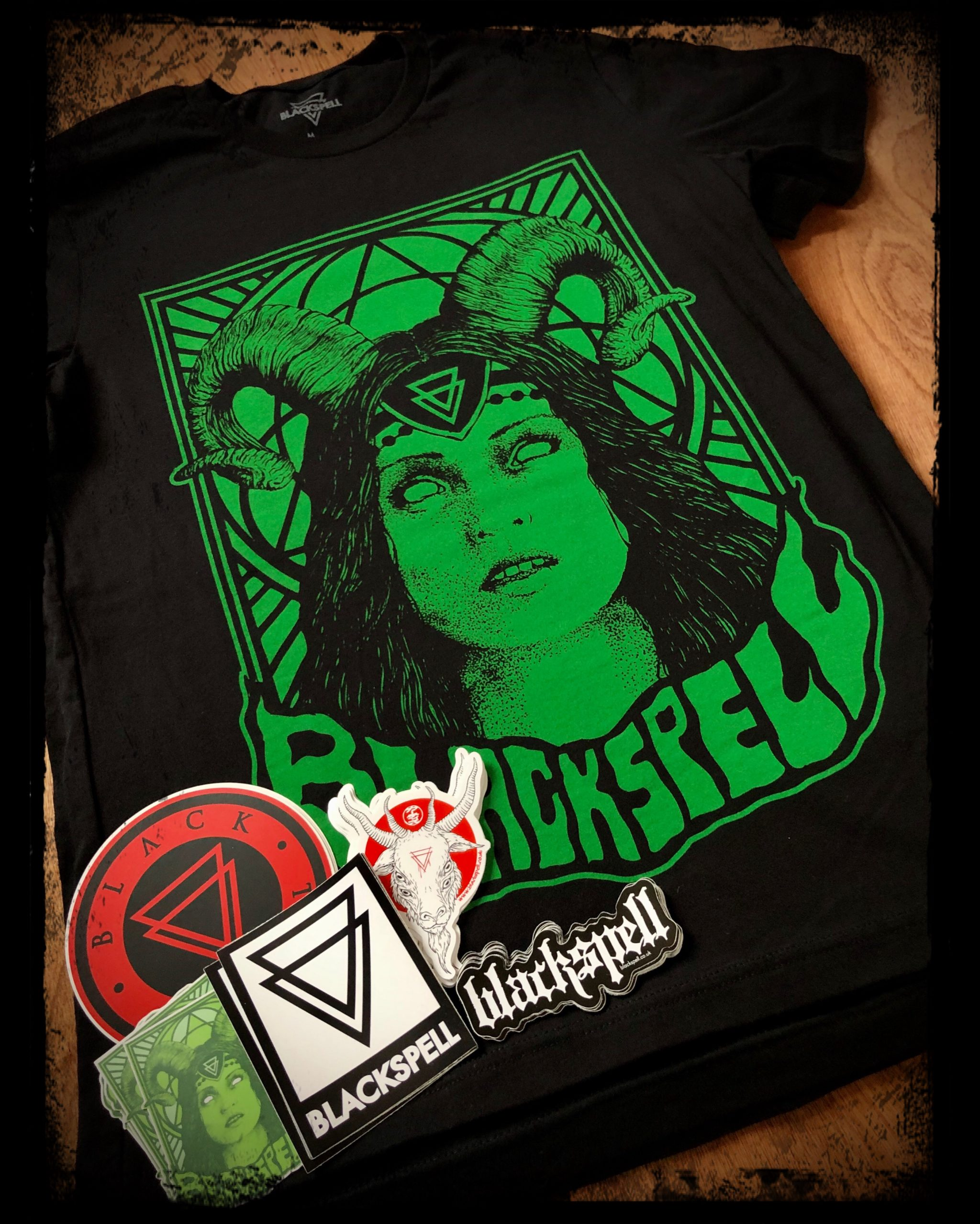 Goat Witch T-Shirt And Sticker Pack GIVEAWAY!