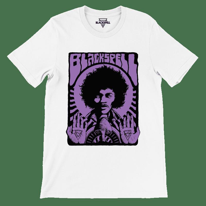 Purple Haze SS Tee | White