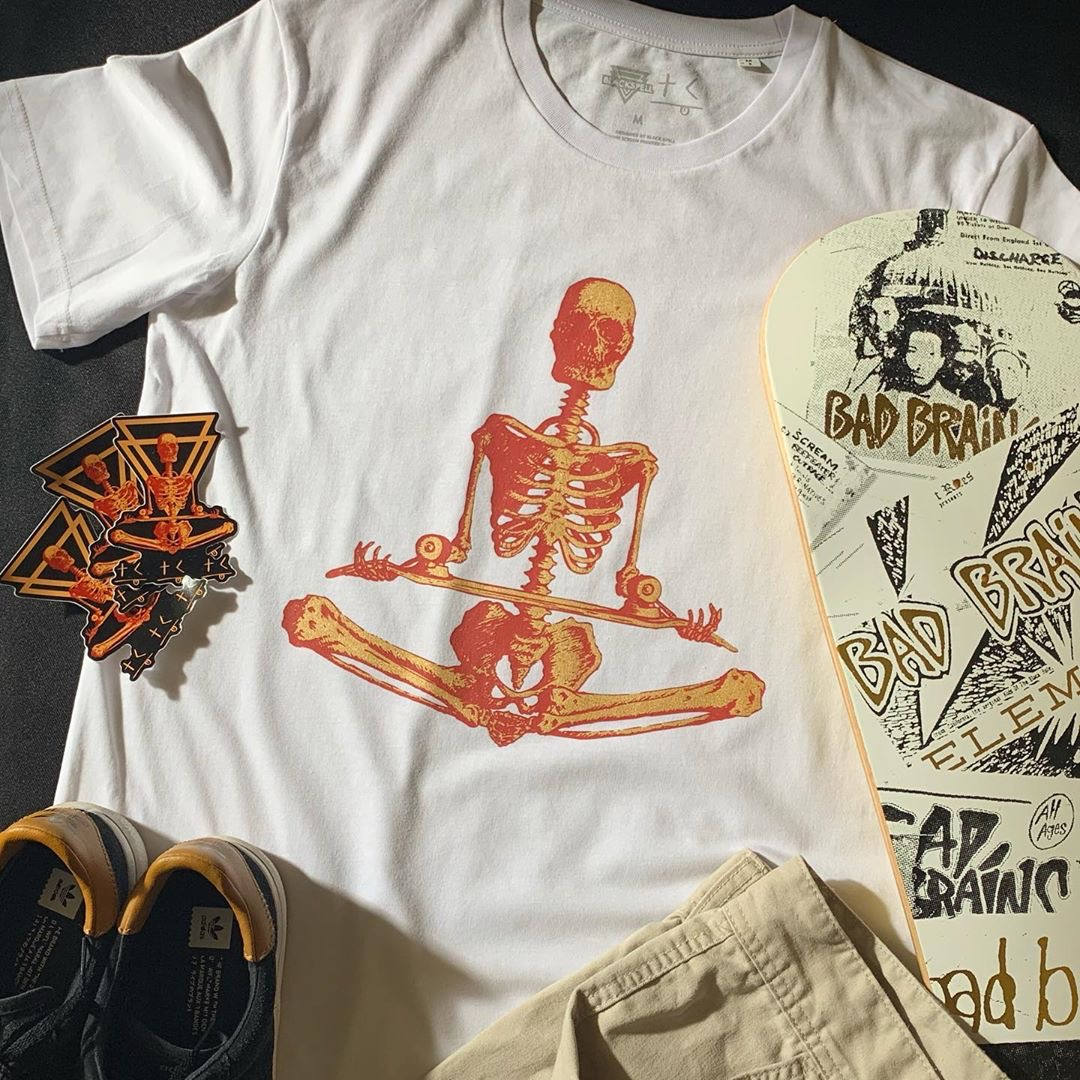 Meditator T-Shirt and Sticker Pack GIVEAWAY! Black Spell x Think Culture Clothing
