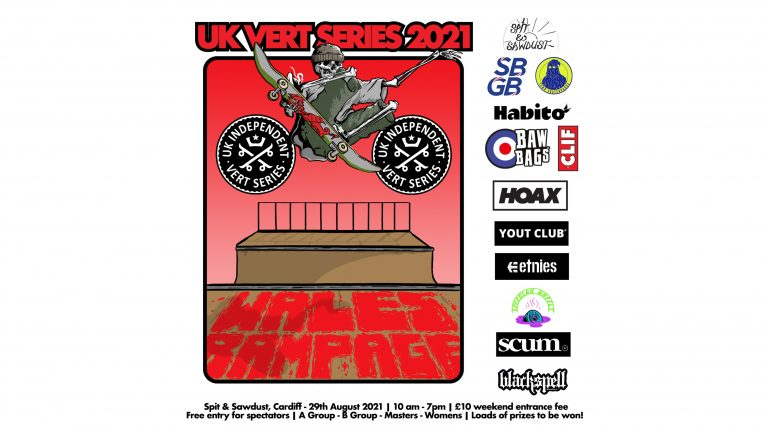 Wales Rampage Poster Artwork – UK Vert Series